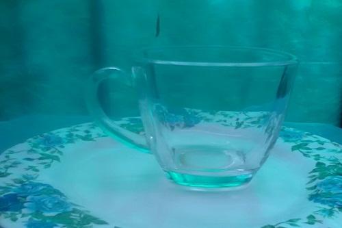 Emptiness seen glass